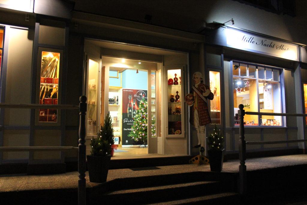 Stille Nacht Shop Oberndorf - Außenansicht