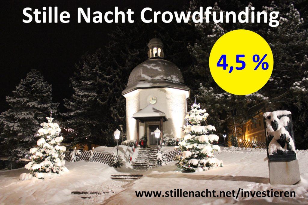 Stille Nacht Crowdfunding - eine interessante Investitionsmöglichkeit in der Region