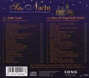 Stille Nacht - Ein Wunschkonzert zur Weihnachtszeit - Rückseite