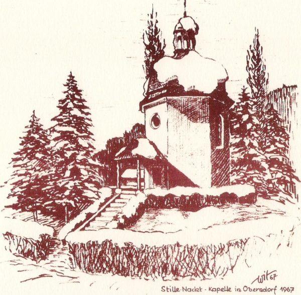 Stille Nacht Kapelle 1967