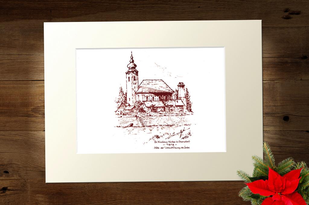 Passepartout Kirche St. Nikola