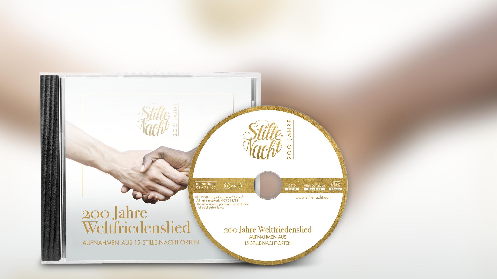CD 200 Jahre Friedenslied Stille Nacht Cover