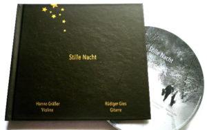 Stille Nacht CD - Violine und Gitarre