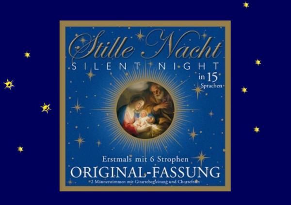 Stille Nacht CD 15 Sprachen